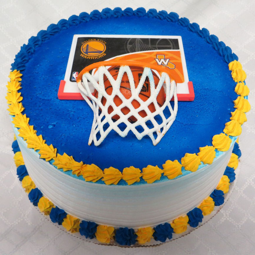 Golden State Warriors Birthday Cake