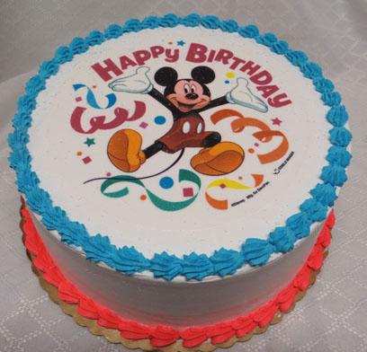 Mickey Mouse Ice Cream Cake Cake Recipe