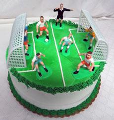 Soccer ice cream cake recipe